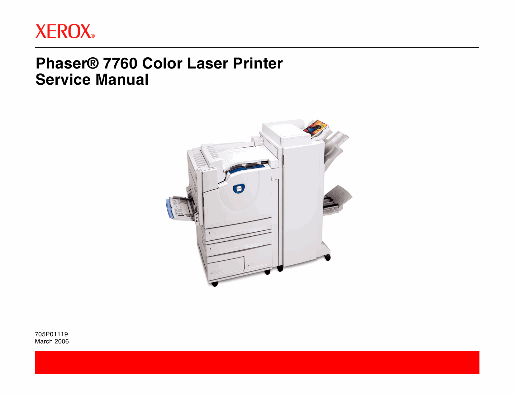 Xerox Phaser 7760 Parts List and Service Manual-1